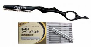 Onyx Black Razor with Box of 10 Replacement Blades